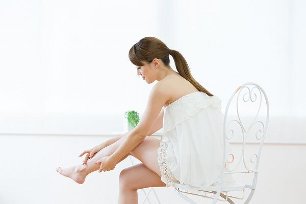 太もも痩せに効く脚やせリンパマッサージが知りたい!